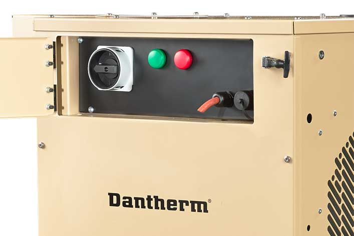 Tent cooling from Dantherm