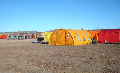 Iceland is an island in the North Atlantic Ocean 103000 km2 in size. The population is 300000. The landscape is magnificent with spectacular wilderness ... & Rescue Team uses mobile tent heaters from Dantherm