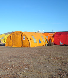 VAM 15 tent heater used by Icelandic Rescue Team