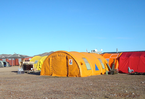 Icelandic Rescue Team use Dantherm Tent Heaters