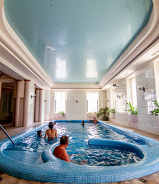 Wellness facility in hotel in Hungary
