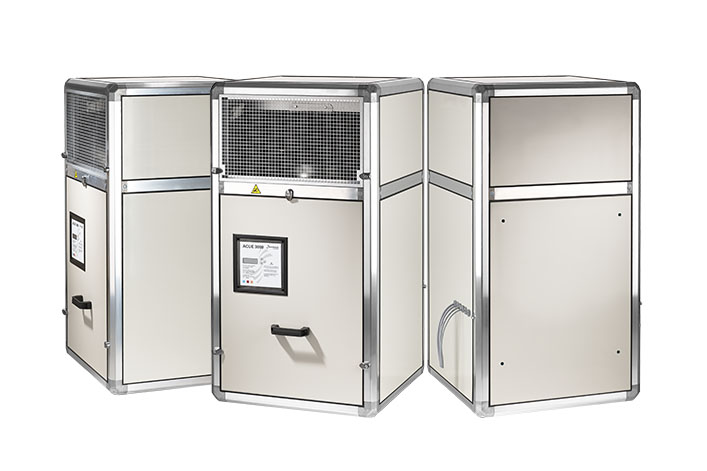 Dantherm high-capacity free cooling for Telecom shelters