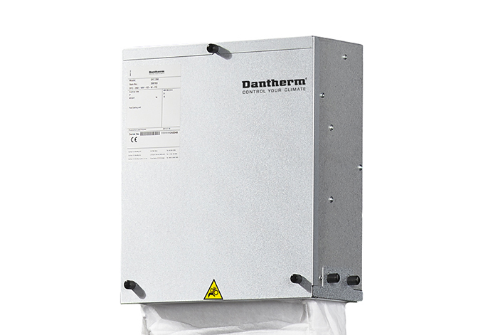 Dantherm DFC displacement free cooling for Telecom