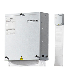 Dantherm Displacement Free Cooling for small rooms with stagnant air - silent electronics cooling