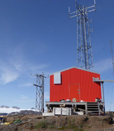 Dantherm solutions at GSM-site in Greenland