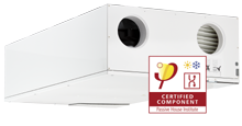 HCC 2 home ventilation unit with heat recovery