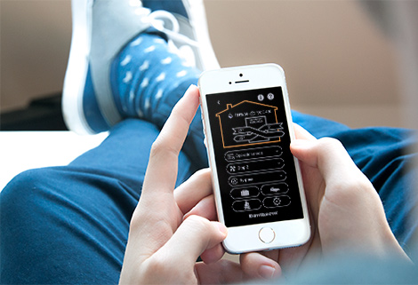 Control your residential ventilation system with your smartphone