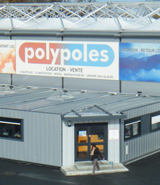 Polypoles meets most emergency cooling needs throughout France by renting out more than 100 slim and powerful Dantherm ACT 7 units.