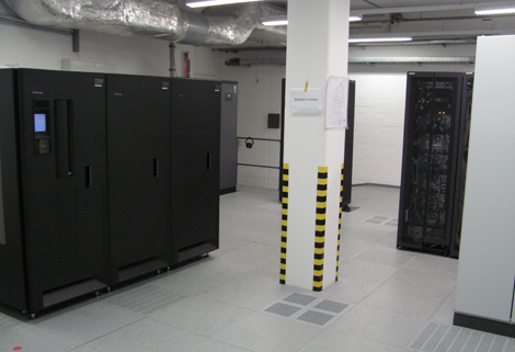 Dantherm free cooling in fixed net data room