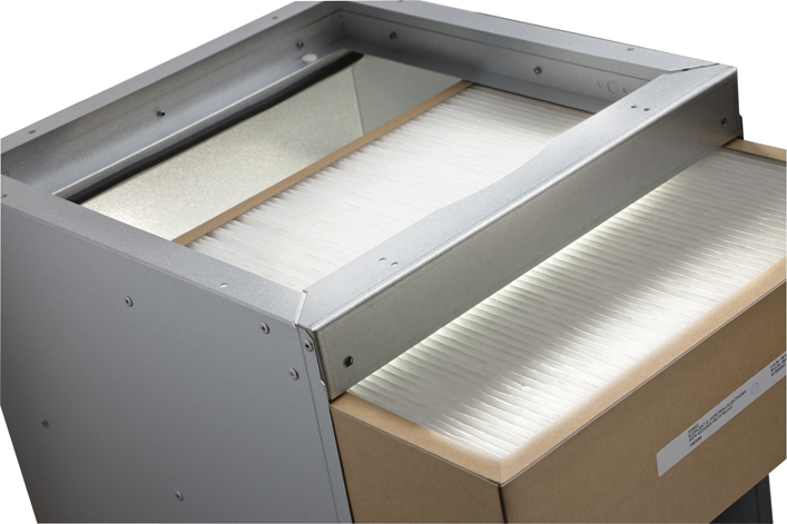 Free Air Cooling - F5 air cleaning filter for Flexibox by Dantherm