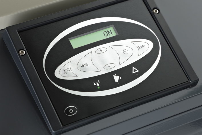 Digital touchpad control panel
