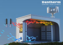 Dantherm Thermosiphon cooling a telecom site